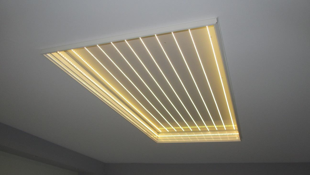 Deckenbespannungen raumgestaltung reeh for Raumgestaltung licht